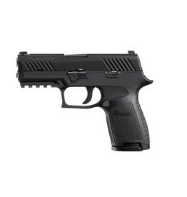 Sigsauer Sig Sauer P320 Compact 9mm 3.9In Siglite Night Sights 2-10rd