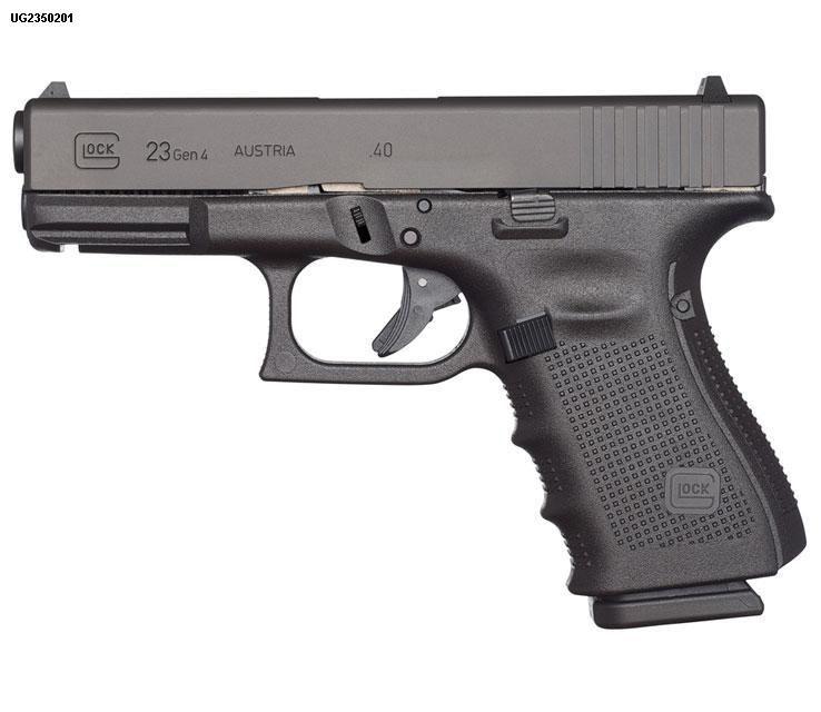 Glock Glock G23 Gen 4 40 S&W 2-10rd Altered USED