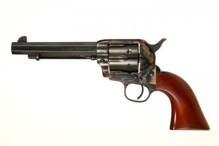 """Taylor's & Co Taylor & Company Cattleman """"The Drifter""""5.5In Octagonal Barrel .357 Mag Smooth Walnut Grips"""