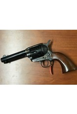 Taylor's & Co Taylor & Company Cattleman .357 Mag 4.75In Photo Engraved Coin Finish