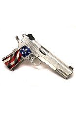 Cabot Cabot Guns 1911 American Joe <br /> C-Class Engraved .45 acp 5in American Flag Aluminum Grips 1-8rd