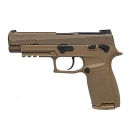 Sigsauer Sig Sauer M17 9mm 4.7In Coyote Siglite Night Sights Manual Safety 2-10rd Alter