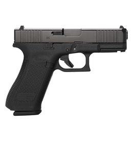"GLOCK Glock G45 Gen5 9mm 4.02In nDLC Finish Marksman Barrel Front Slide Serrations  ""19"" Size Slide On Full Size Grip 3-10Rd"