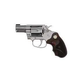 COLT Colt Cobra Talo Exclusive 38Spl+P 2In Bright Stainless Wood Medallion Grips