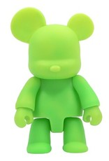 16 inch Qee Bear Green plastic figure
