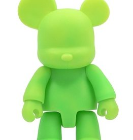 16 inch Qee Bear Green plastic figure