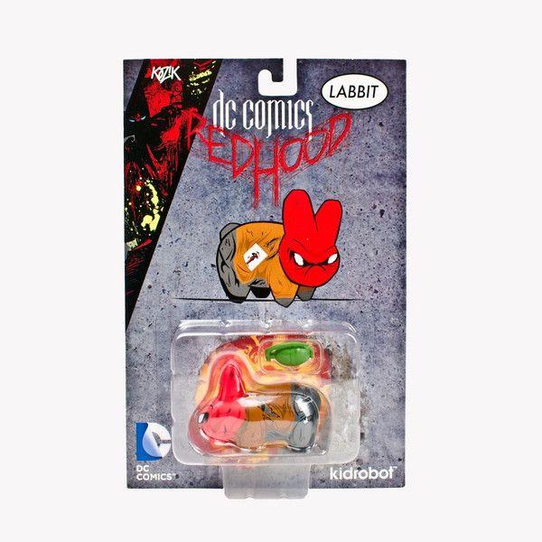 "Beats Kidrobot   DC Universe Labbit 2.5"" Red Hood"
