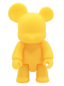 Toy2R 16 inch Qee Bear Yellow plastic figure