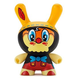 "Kidrobot ""No Strings On Me"" 8"" Dunny by WuzOne"