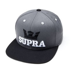 Supra Supra Above Snap Grey Black