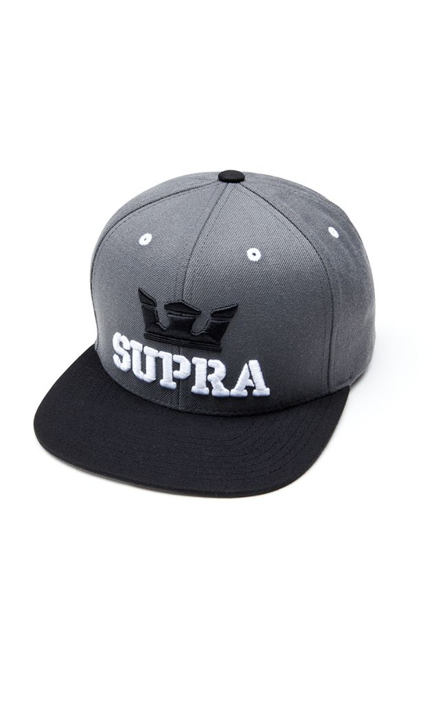 Supra Supra Above Snap Grey Black
