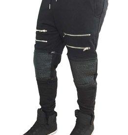 Grooveman Groove | Sweatpants Leather Zip