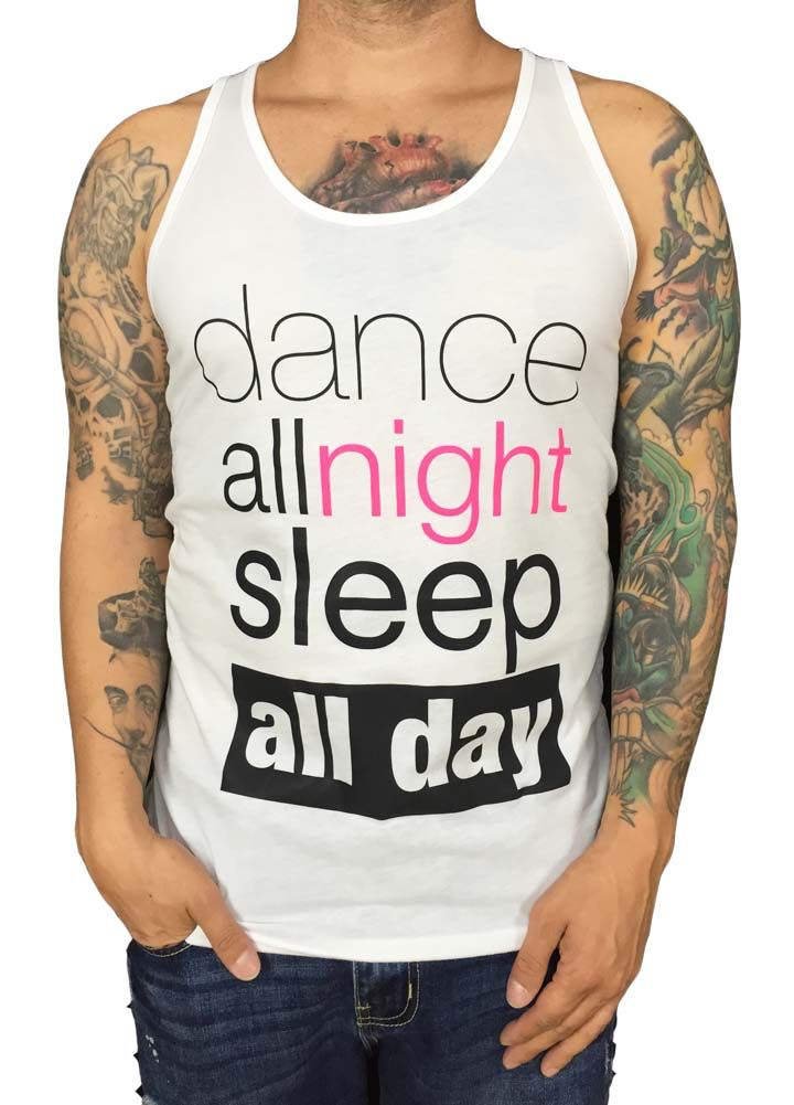 Grooveman Dance All night Tank