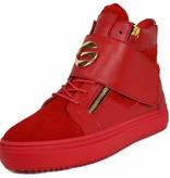 Grooveman Groove Footwear | Solid Red