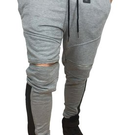 Grooveman Groove | Sweatpants Zip Leather On The Side