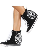 London Wedge Canvas Sneakers