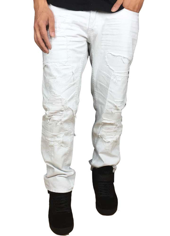 Jordan Craig Patch Shredded Jeans