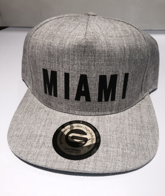 Grooveman Miami Snapback Hat