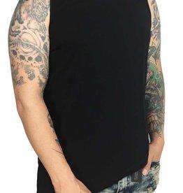 Grooveman Tank Top Asymmetrical with Zipper