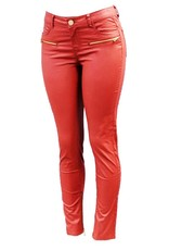 London Pants   Vegan Leather Zip