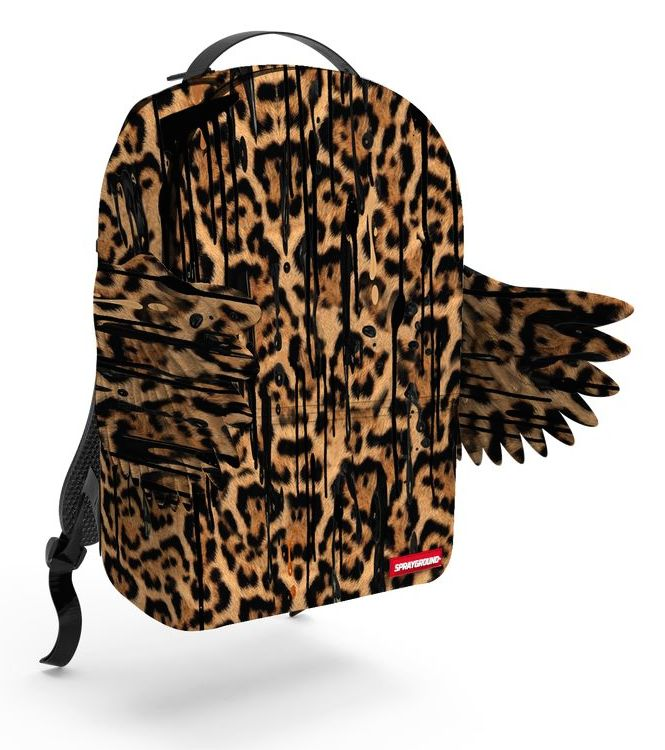 Sprayground Sprayground | Leopard Removeable Wings