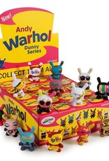 "Kidrobot Kidrobot | ANDY WARHOL 3"" Dunny Blind Box Mini Series"