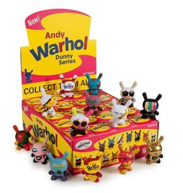 "Kidrobot Kidrobot | ANDY WARHOL 3"" Dunny Blind Box Mini Series"
