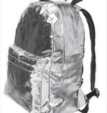 London Backpack Shiny Silver