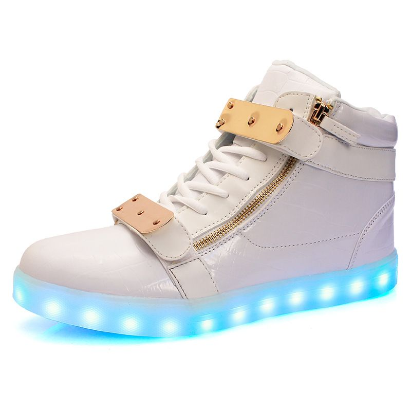 London LED-Hi Top Sneakers | Womens