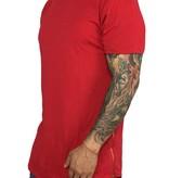 Grooveman Basic Long Lengh Tee W/Zipper