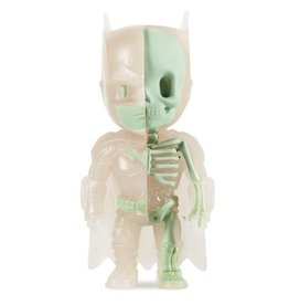Kidrobot MIGHTY JAXX XXRAY GID BATMAN BY JASON FREENY