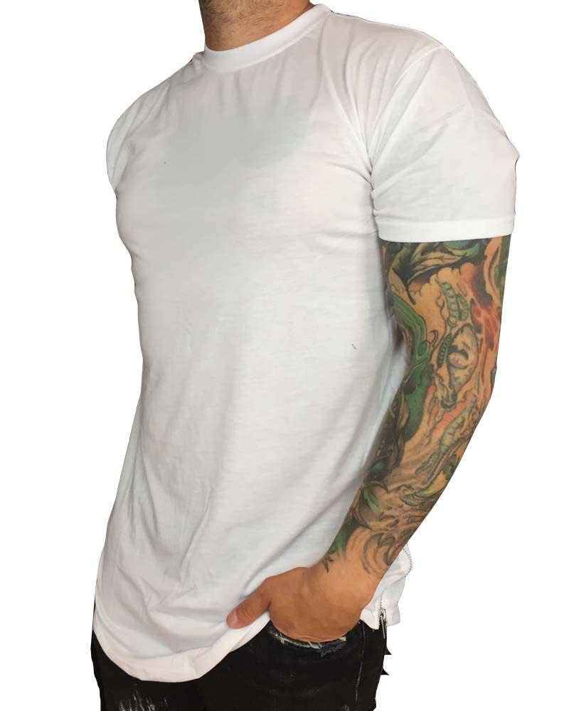 Grooveman Basic Elongated Tee w/Zipper