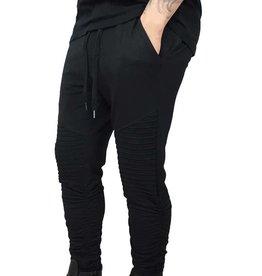 Grooveman Biker pants w/Shirring