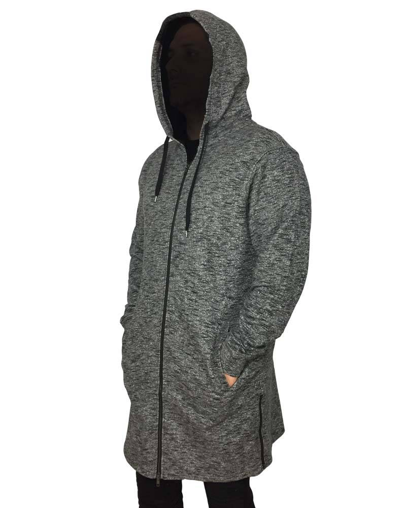 Grooveman French Terry Elongated Hoodie