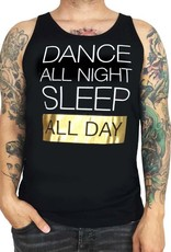 Grooveman Dance All Night Sleep All day Tank