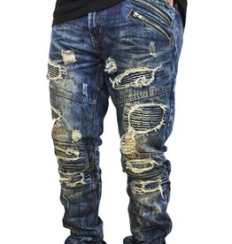 Grooveman Rip and Repair Denim