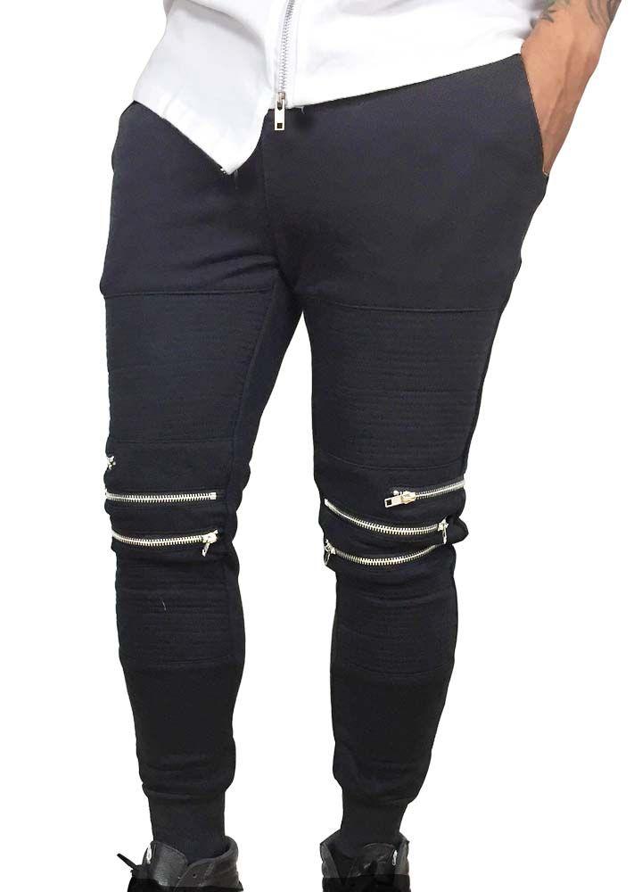 Grooveman Groove | Sweatpants w/Zipper