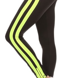 London Leggins Neon Stripes