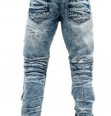 Smoke Rise Denim Moto w/Trim