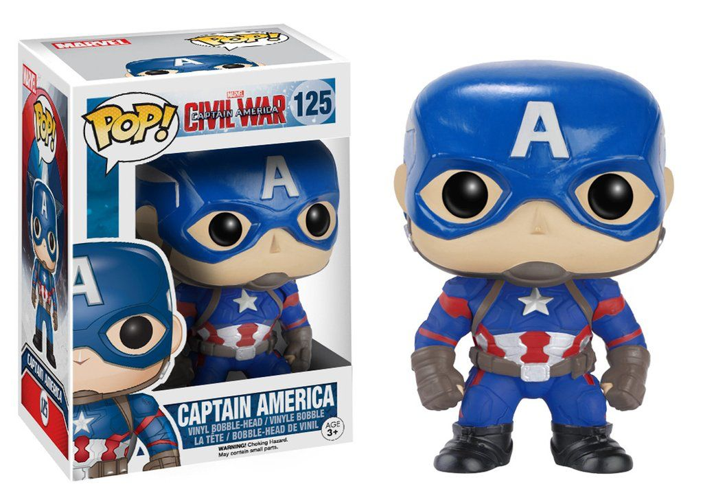 Funko Funko | Pop Captain Amerixa