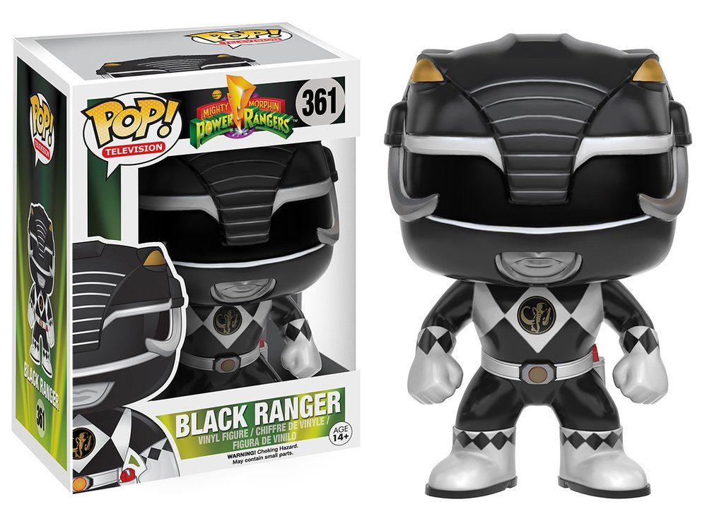 Funko Funko | Pop TV Powe Rangers Black Ranger