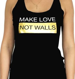 Grooveman Make Love Women Tank