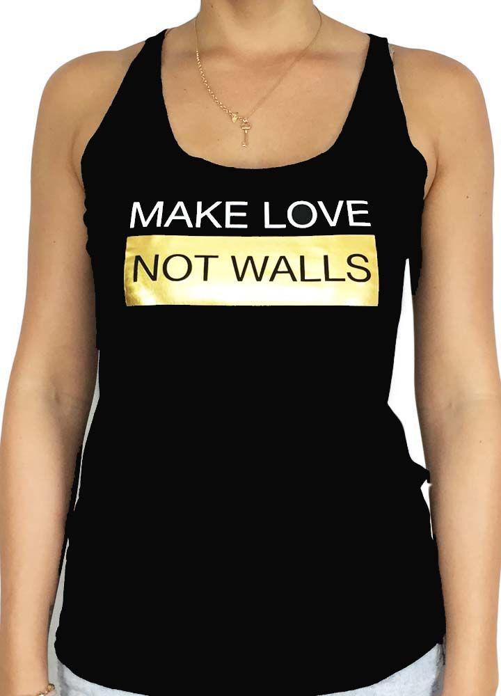 Grooveman Make Love Women Tank