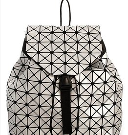 London Backpack Diamond Silver