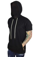 Grooveman Elongated Hoodie Tee w/ pocket