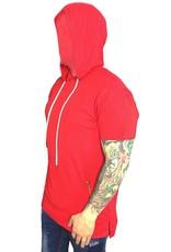 Grooveman Elongated Hoodie Tee w/ pocket