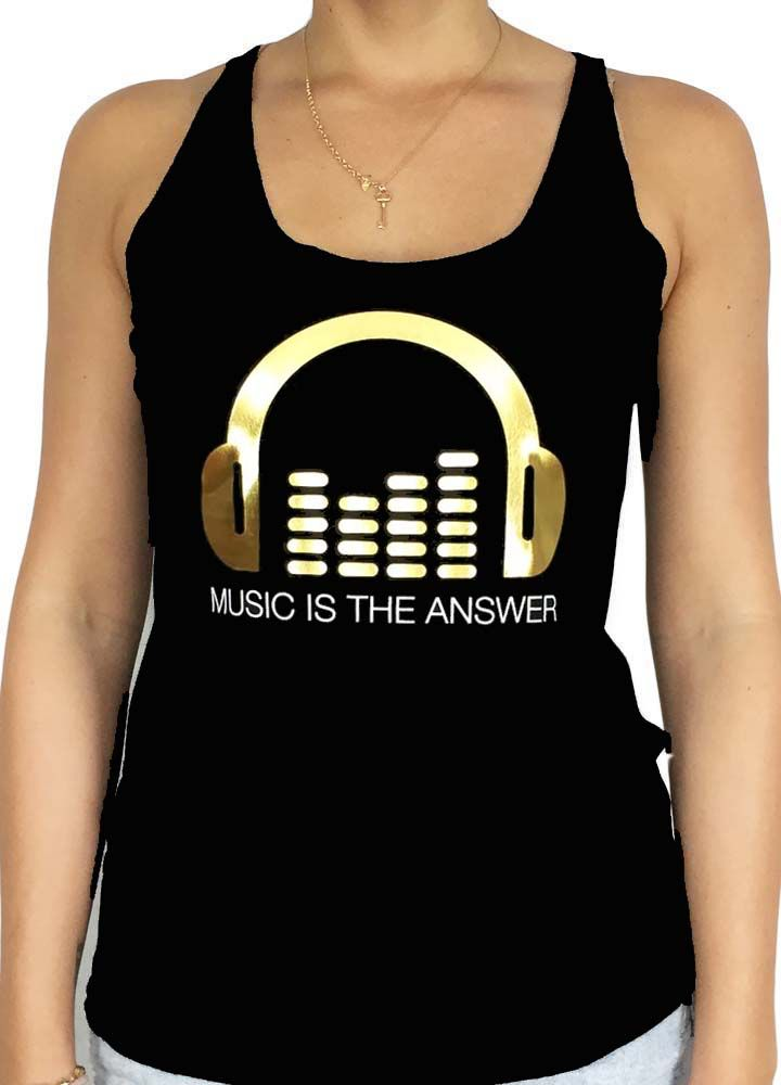 Grooveman Music is the Answer W Tank