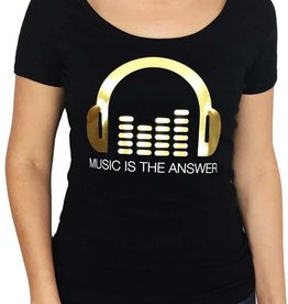Grooveman Music is the Answer W Tee