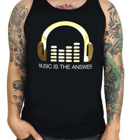 Grooveman Music is the Answer Tank