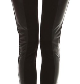 London Leggins feat Faux Leather Panel